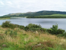 Some of the best views of the loch are available from this point.