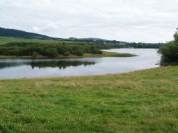 Excellent views of Loch Ore are still available.