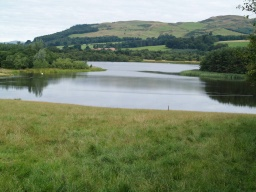 Attractive views across the loch are available from most parts of the trail.