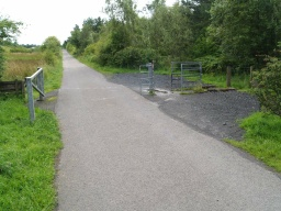 If closed this barrier should have a National Key Scheme lock to allow disabled people with keys to pass.