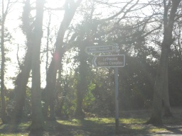 To find Lythwood Community Woodland, head South on A5 / A49 Shrewsbury to Leominster Road. After a few miles turn right into Bayston Hill and follow Lythwood Road. At this sign go left and, after passing the allotment, the entrance is on your left.