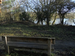 The Nature Reserve hugs the banks of the River Severn.