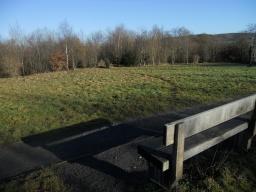 Views across to Haughmond Hill.