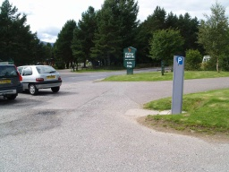 The walk starts from the car park of the Glenmore Forest Visitor Centre. There are disabled parking spaces, toilets and a cafe available at the visitor centre.OS Grid Reference: NH 997 097