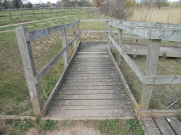 Some visitors may require assistance over a step level rise from the path onto the ramp.