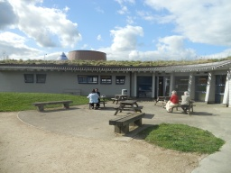 A picnic area is situated behind the Visitors Centre.