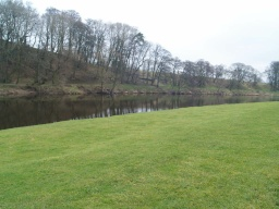 The walk gives excellent views of the River Ribble.