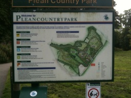 An Information Board gives details of all the walks in the country park.