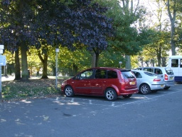 There are 4 Blue Badge parking bays in the car park. They are right next to the start of this trail.