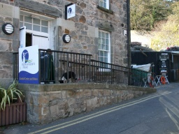 At the end of the trail there is a cafe, and accessible toilets in the Harbourmasters House as well as further information on the Fife Coastal Path.