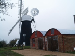 The windmill and engine house are open to the public. See Information board for details