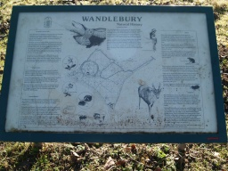 There are other information boards around the site that explain the history of Wandlebury Ring and the surrounding area.