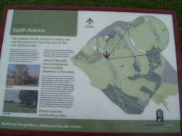 Interpretation boards are provided throughout the gardens. More details of the numerous trails through the gardens can be obtained at the visitor centre
