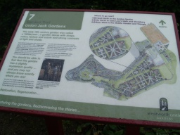 Interpretation boards are provided throughout the gardens. More details of the numerous trails through the gardens can be obtained at the visitor centre.