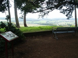 The Earl's Seat provides wonderful views over the parkland around Wentworth Castle and the wider countryside.