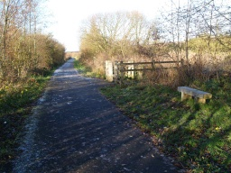 There is a bench by the entrance from Maree Drive, the B9037 leading to Blairhall. (See Extra Photos)