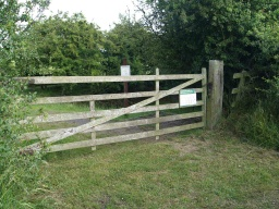 The entrance gate to the second hide near West Fleetham is about half a mile north of the hamlet on the road towards North Sunderland at Ordnance Survey Grid Reference NU193286.