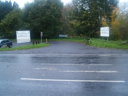 The entrance to the car park is from the A61 a little over two miles north of junction 36 on the MI.